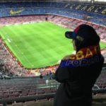 عکس اناشید حسینی در استادیوم