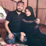 عکس امیر محسن مرادی و همسر سابقش اناشید