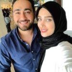 عکس امیر محسن مرادی و آناشید حسینی