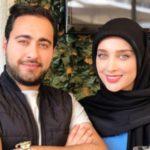 عکس اناشید حسینی و همسر سابقش