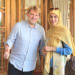 عکس اناشید حسینی مدل حجاب در فضای مجازی
