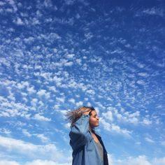ژست عکاسی آسمان تک نفره و دو نفره
