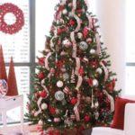 ایده برای تزیین ساده درخت کریسمس