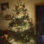 تزیین درخت ساده کریسمس 2021