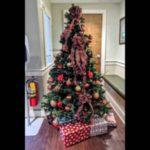 تزیین درخت کریسمس ساده 2021