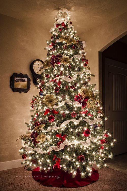 شیک ترین تزیین درخت کریسمس با وسایل ساده در خانه