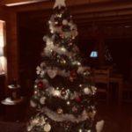 تزیین درخت ساده کریسمس