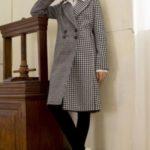 مدل ساده پالتو چهارخونه دخترانه