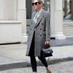مدل پالتو چهارخونه دخترانه خاص
