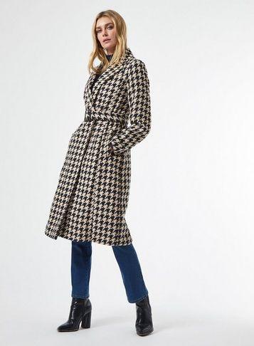 مدل پالتو کتی چهارخونه جدید دخترانه