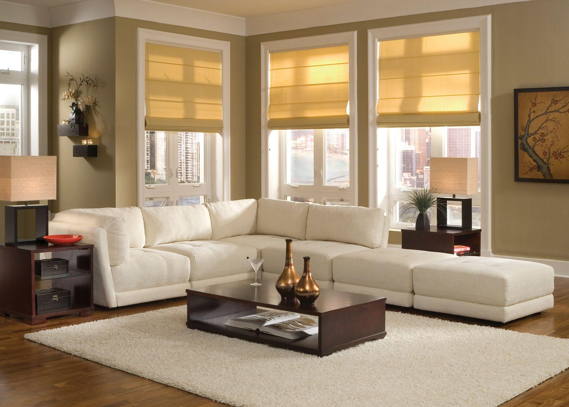 دکوراسیون منزل با مبلمان سفید