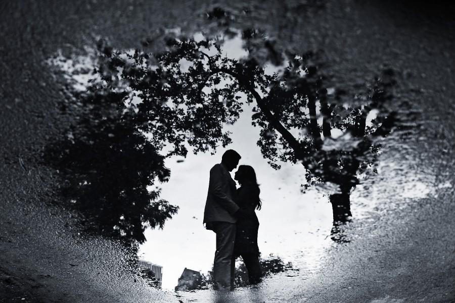 عکس برف در شب عاشقانه و زیبا برای پروفایل