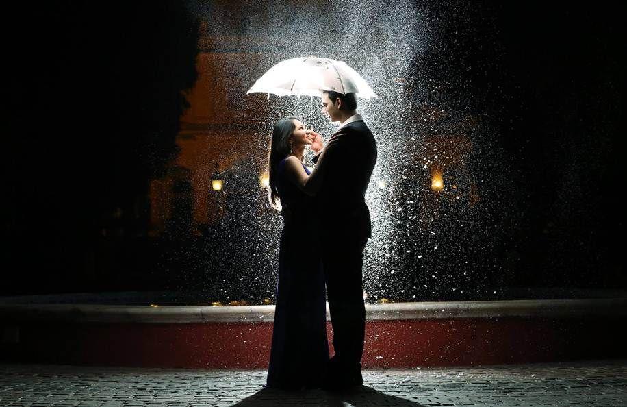 عکس برف در شب عاشقانه برای استوری و پروفایل