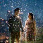 عکس برف در شب عاشقانه و زیبا خاص
