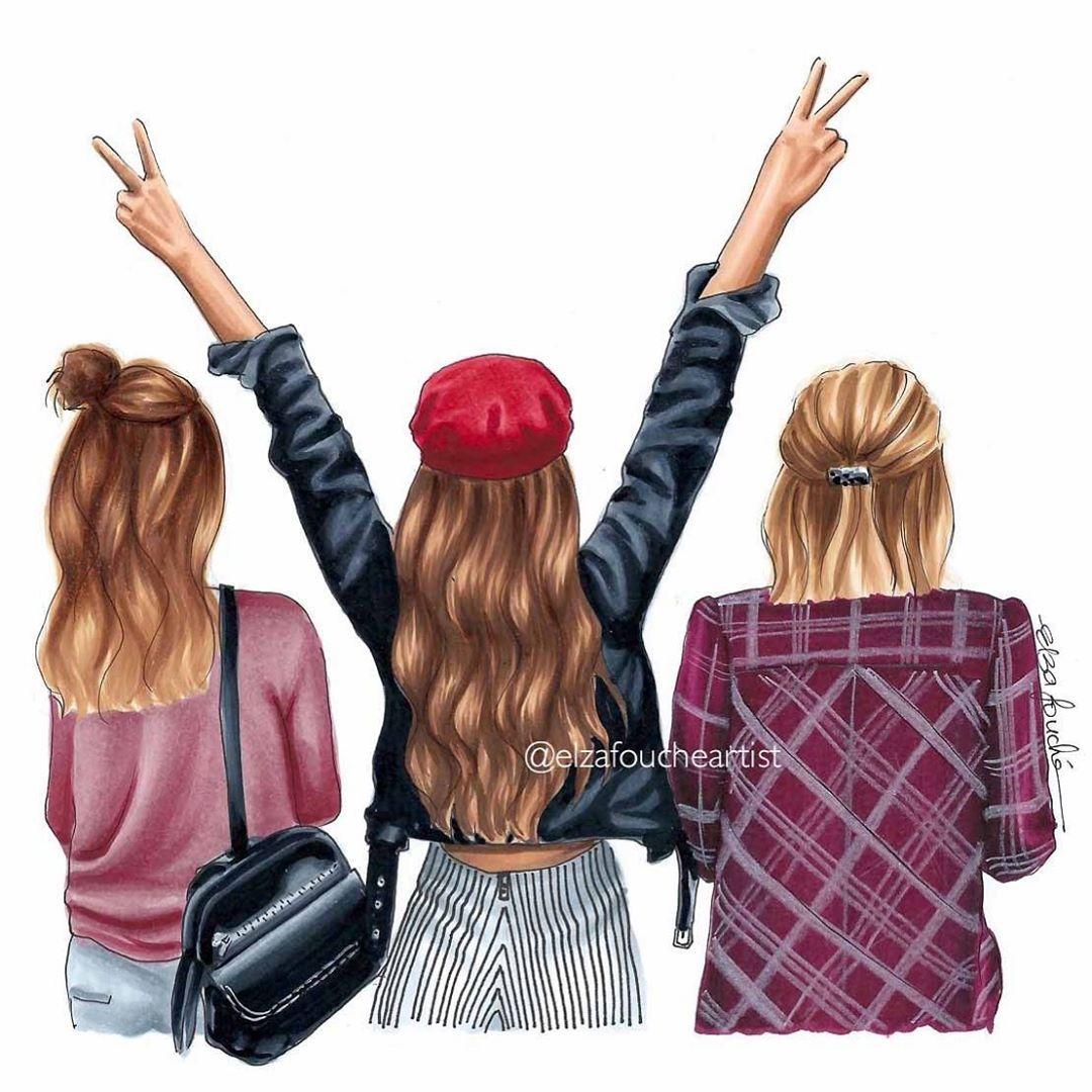 عکس پروفایل زیبا برای گروه های دخترانه در واتساپ