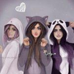 عکس برای گروه های دخترانه دوستانه در تلگرام