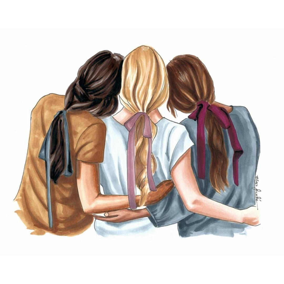عکس پروفایل برای گروه دخترانه دوستانه در واتساپ