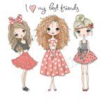 عکس پروفایل دوستانه برای گروه های دخترانه در واتساپ