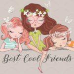عکس پروفایل دوستانه برای گروه های دخترانه
