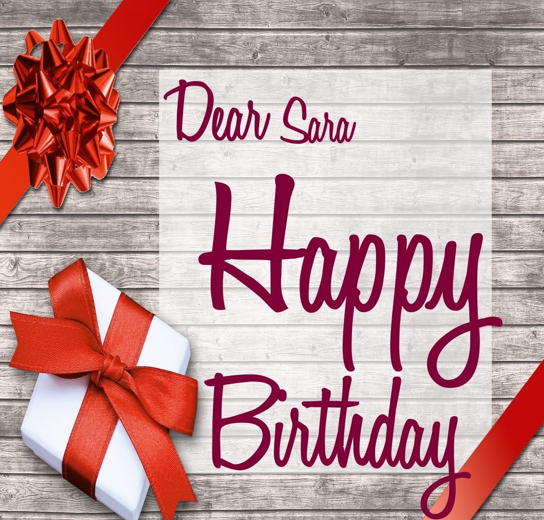 سارا تولدت مبارک