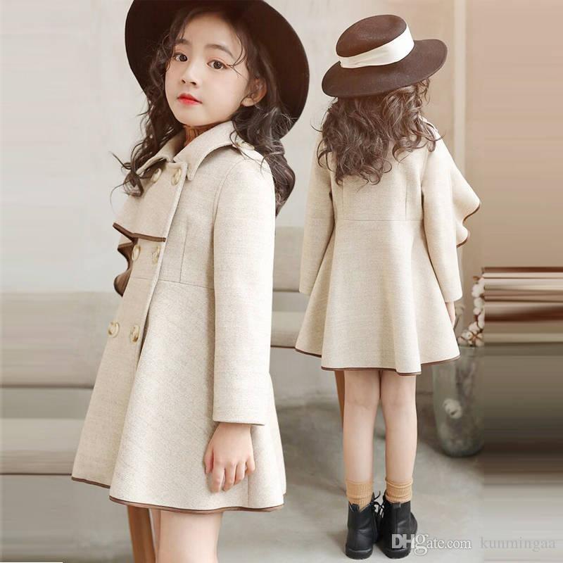 مدل پالتو بچگانه دخترانه 2021 کرم