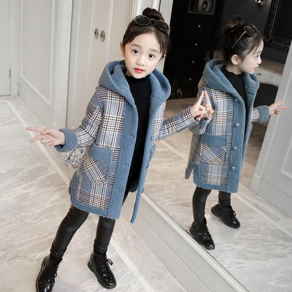 عکس مدل پالتو بچه گانه دخترانه زمستانی 2021
