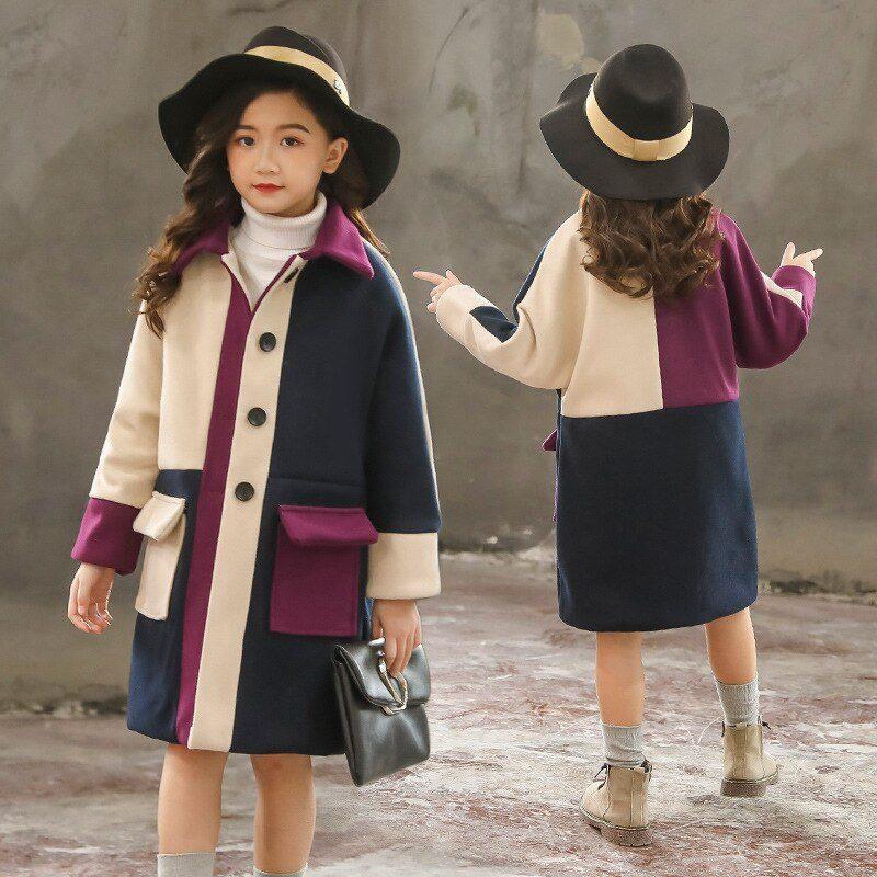 مدل پالتو بچگانه دخترانه 2021 اسپرت