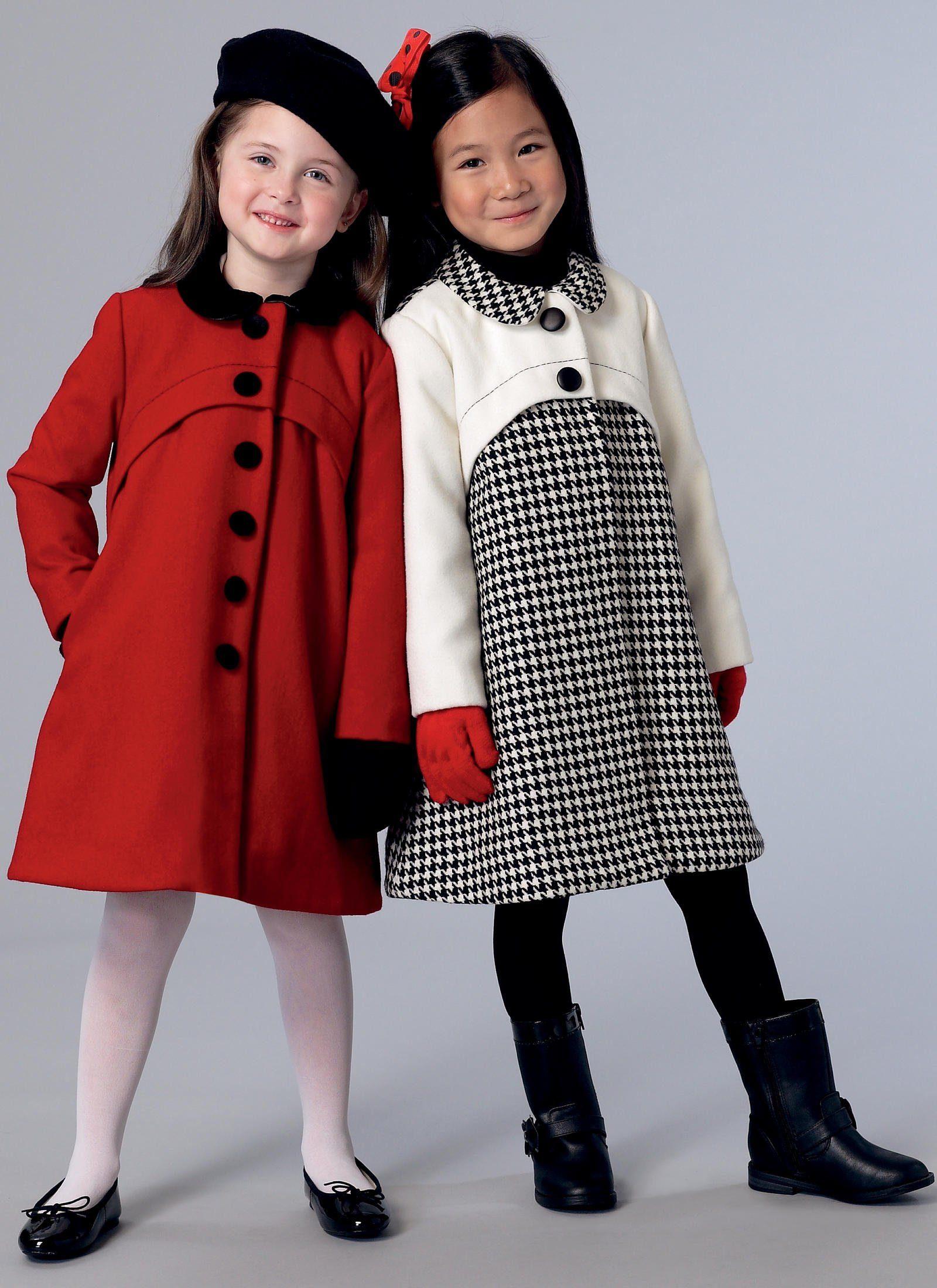 مدل پالتو بچگانه دخترانه 2021 کره ای