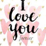 عکس پروفایل با نوشته i love you