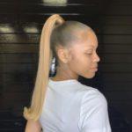 مدل جدید مو دم اسبی دخترانه