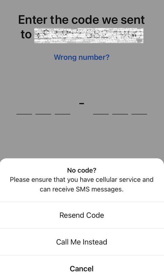 عدم دریافت کد فعالسازی پیام رسان سیگنال