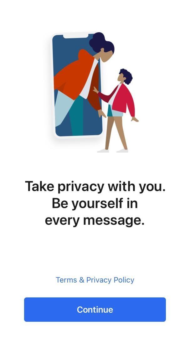 نحوه نصب پیام رسان سیگنال