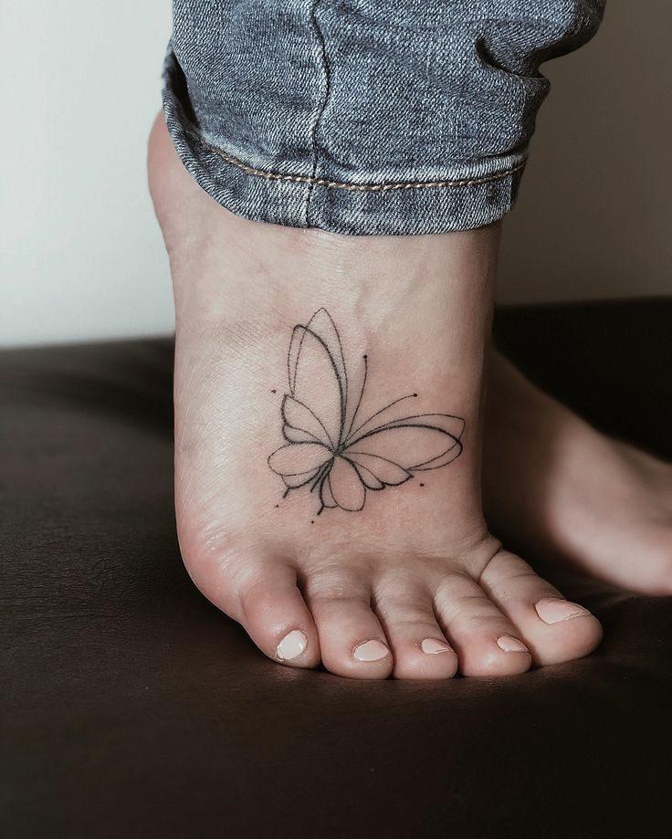طرح خالکوبی پروانه
