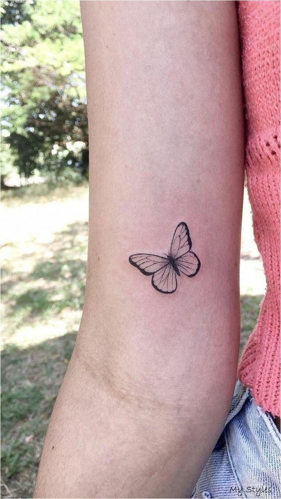 مفهوم تاتو پروانه چیست؟