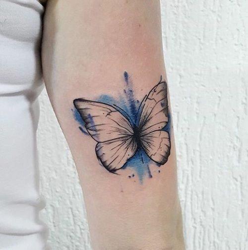 تاتو پروانه نماد چیست؟