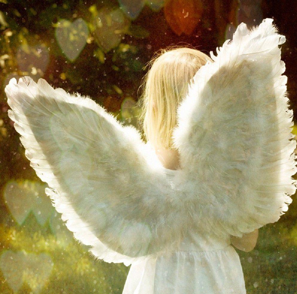 دختر با بال فرشته
