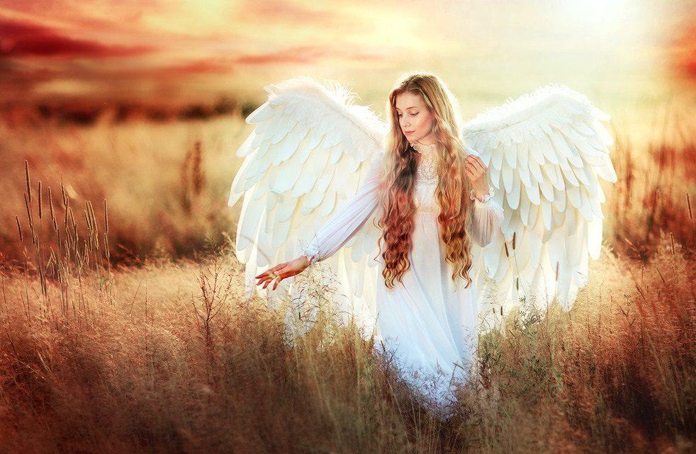 عکس پروفایل دختر با بال فرشته