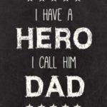 عکس نوشته برای پدر دوستت دارم