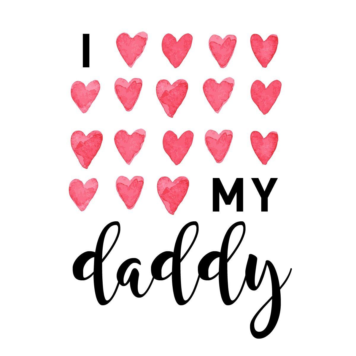 عکس پروفایل پدر عزیزم دوستت دارم انگلیسی