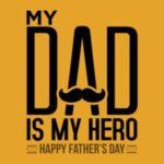 عکس نوشته love you father