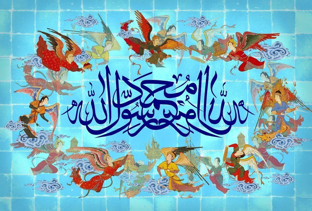 عکس نوشته زیبا برای تبریک عید مبعث