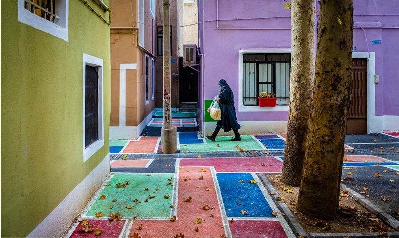 کوچه رنگی تهران