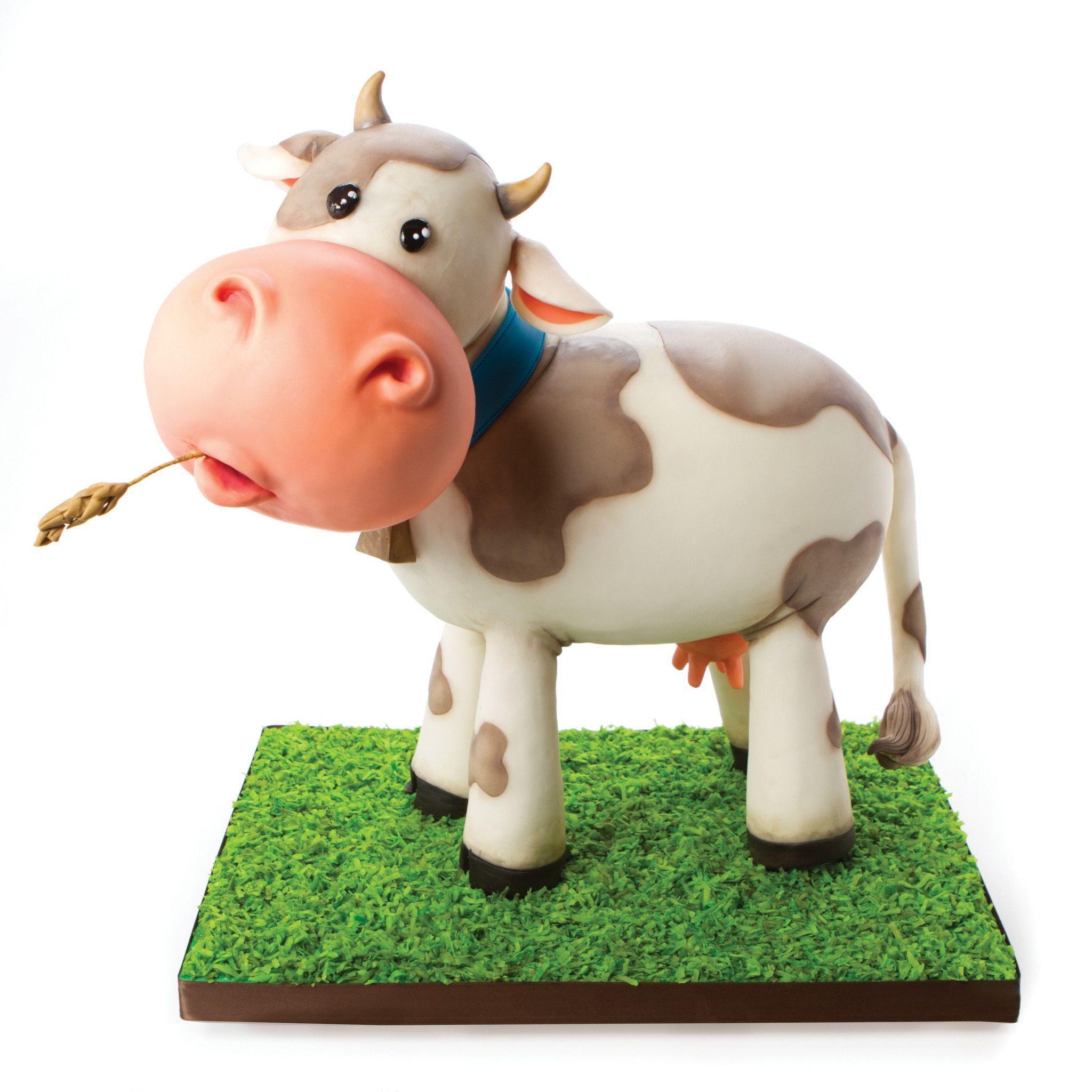 ساختن گاو با خمیر برای هفت سین