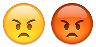 ایموجی صورت خشمگین
