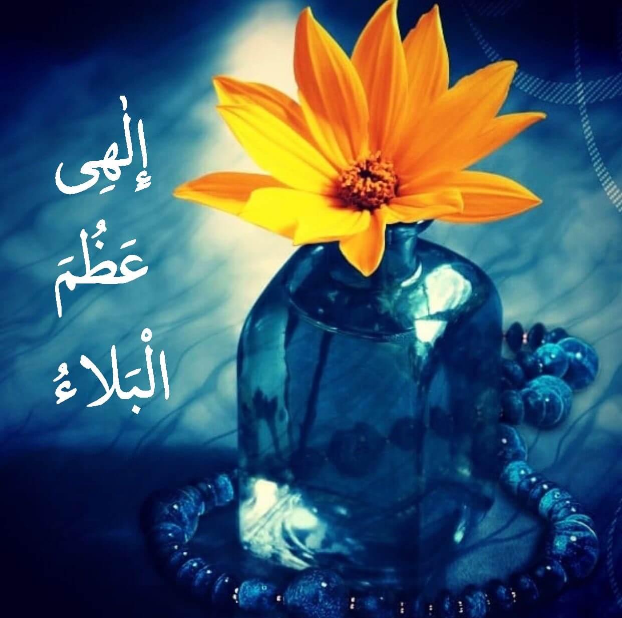زیباترین عکس پروفایل دعای الهی عظم البلا