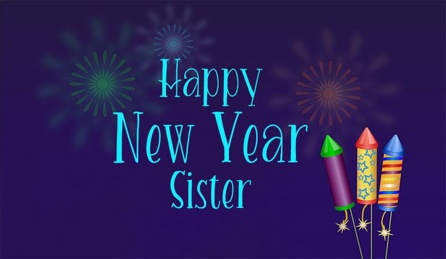 تبریک سال نو برای خواهر
