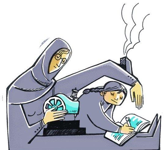 متن درباره زنان سرپرست خانواده