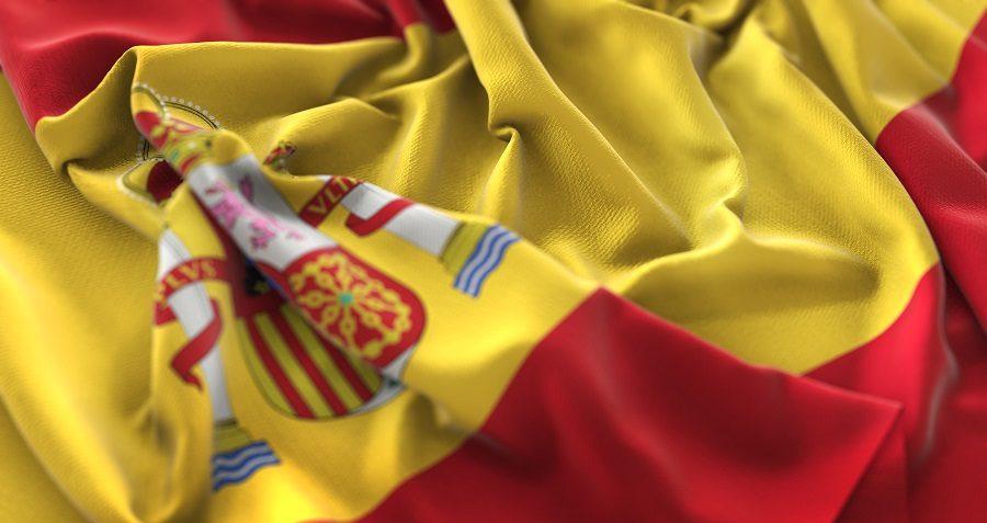 عکس پرچم spain