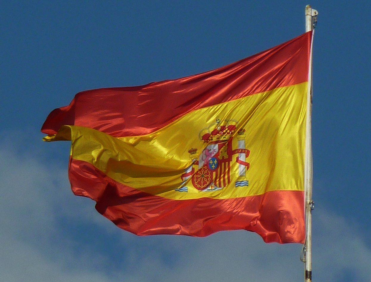 تصاویر پرچم کشور اسپانیا