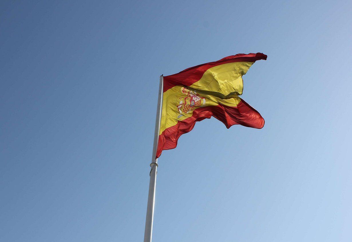 عکس پرچم اسپانیا